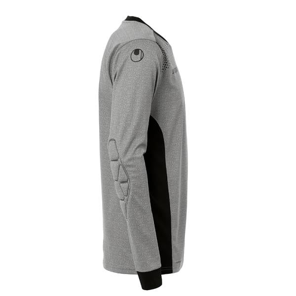 Goal GK Shirt LS - Dark Grey Melange/Black