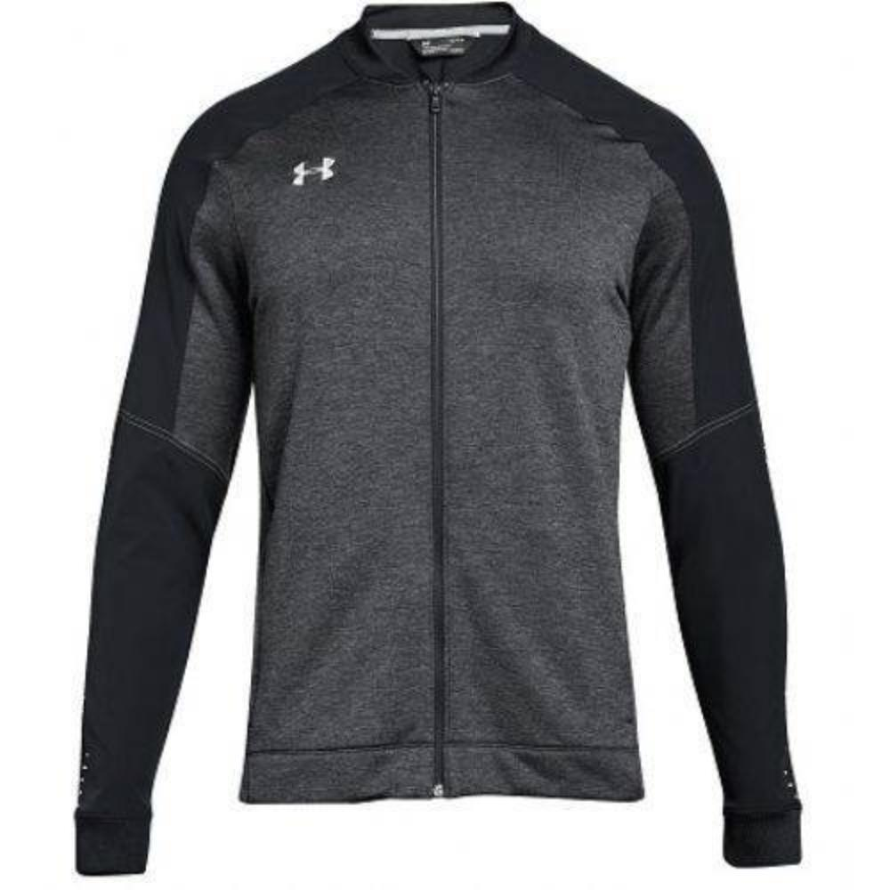 Qualifier Hybrid Warm-Up Jacket - Black