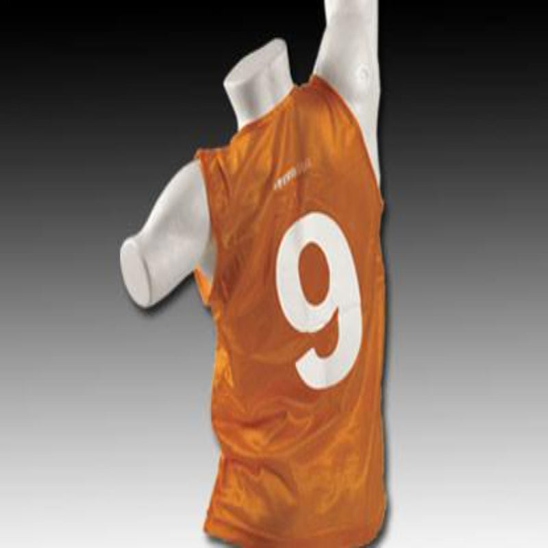 Numbered Vests 1-18 - Orange