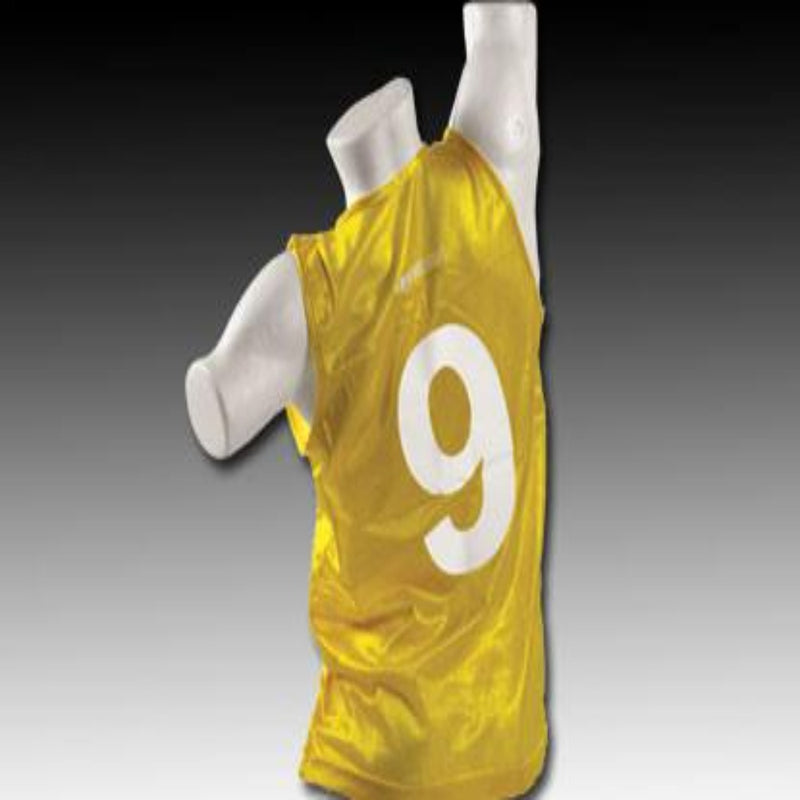 Numbered Vests 1-18 - Yellow