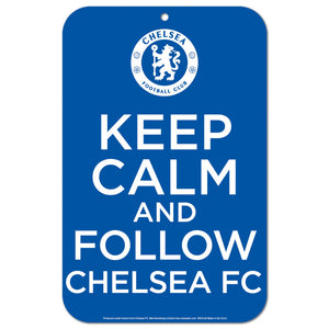 Chelsea Keep Calm Sign - Licensed