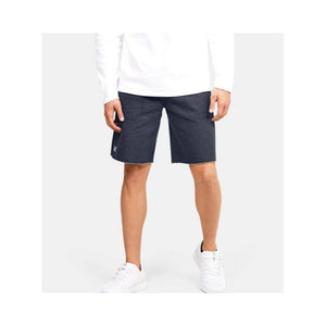 Men's UA Hustle Fleece Shorts - Black