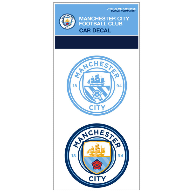 Machester City Car Decal - Licensed