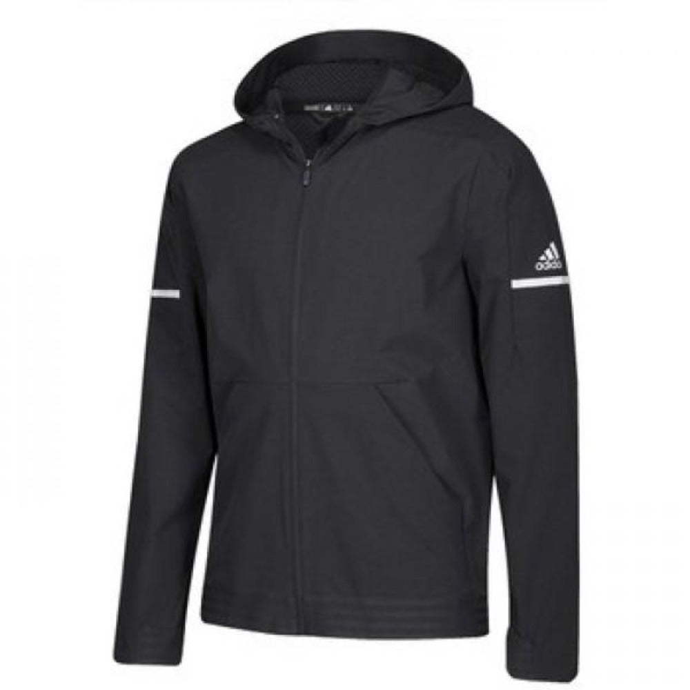 Squad Woven Full-Zip Jacket - Black/White