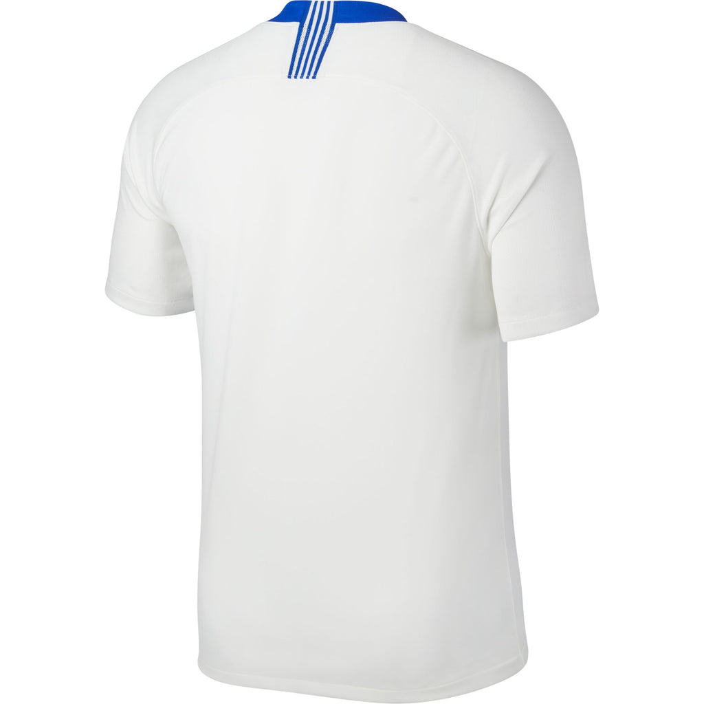 Greece Stadium Home Jersey 2018 - White/Hyper Cobalt