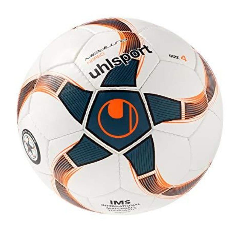 Nero Futsal Ball - White/Orange