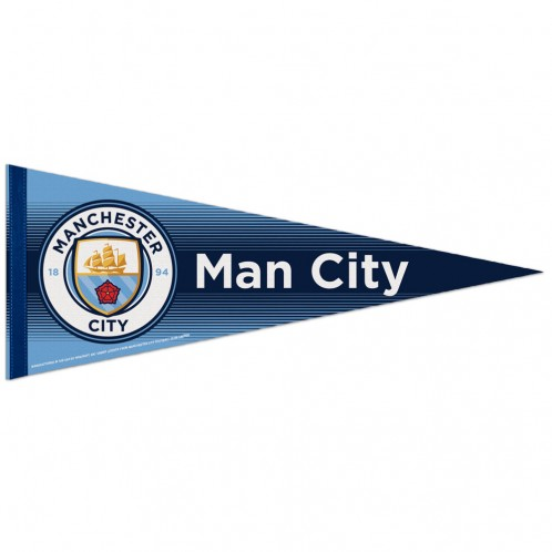 Manchester City – Triangular Pennant (12 X 30″)