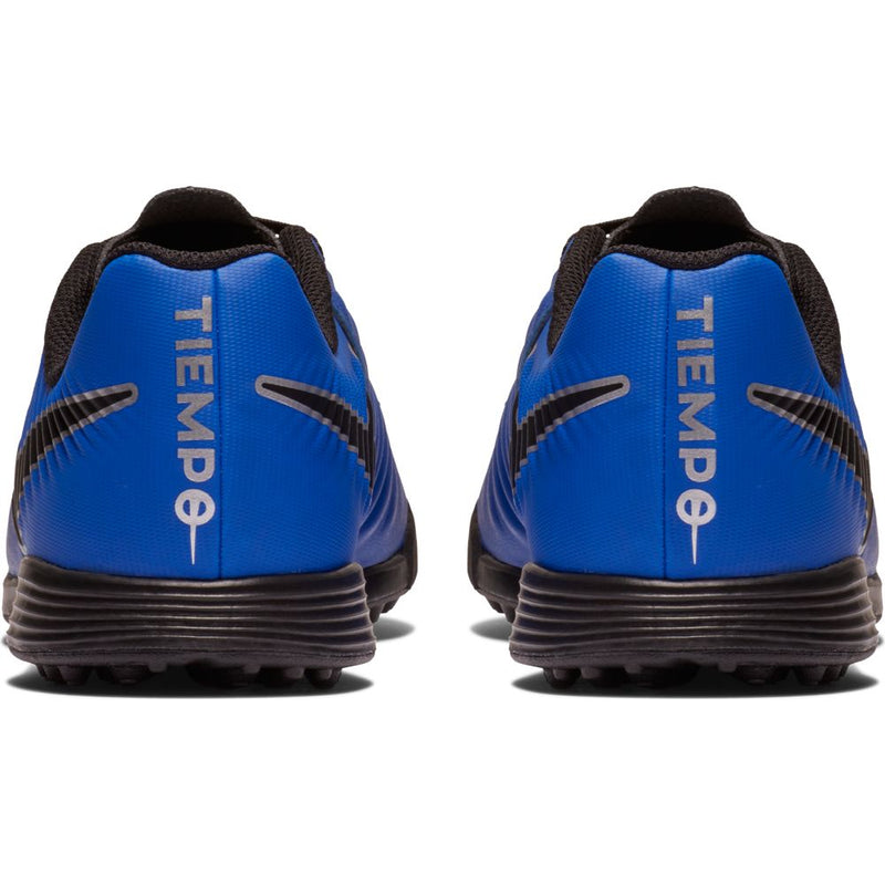 JR Tiempo LegendX 7 Academy TF - Racer Blue/Black-Metallic Silver