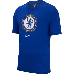 Chelsea FC Evergreen Crest Tee - Rush Blue