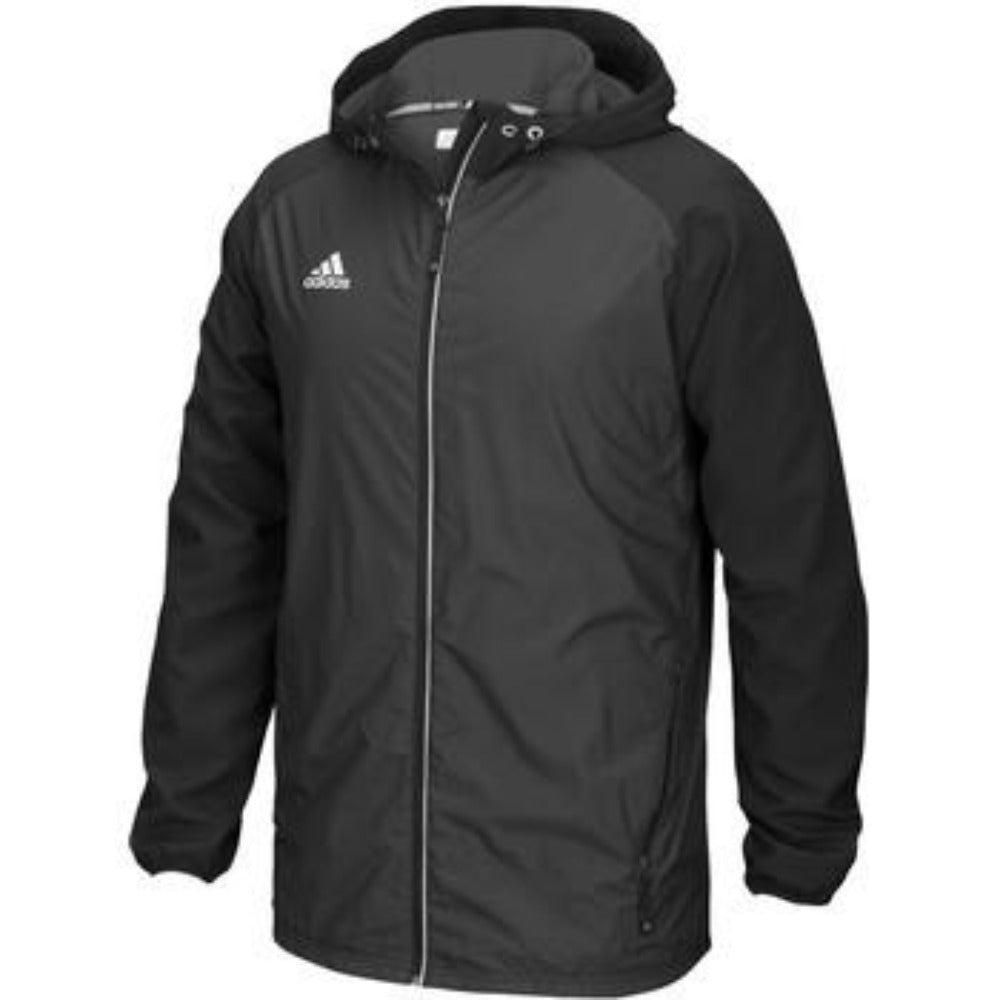 Modern Varsity Full Zip Jacket - Black Non Solid