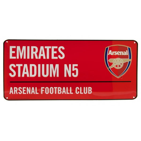 Arsenal Street Sign