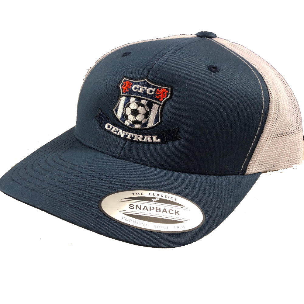 CFC Ball Cap - Navy/White