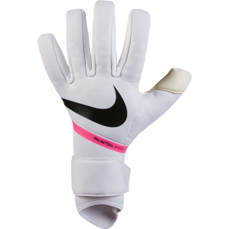 Nike Goalkeeper Phantom Shadow Glove - WHITE/PINK BLAST/BLACK