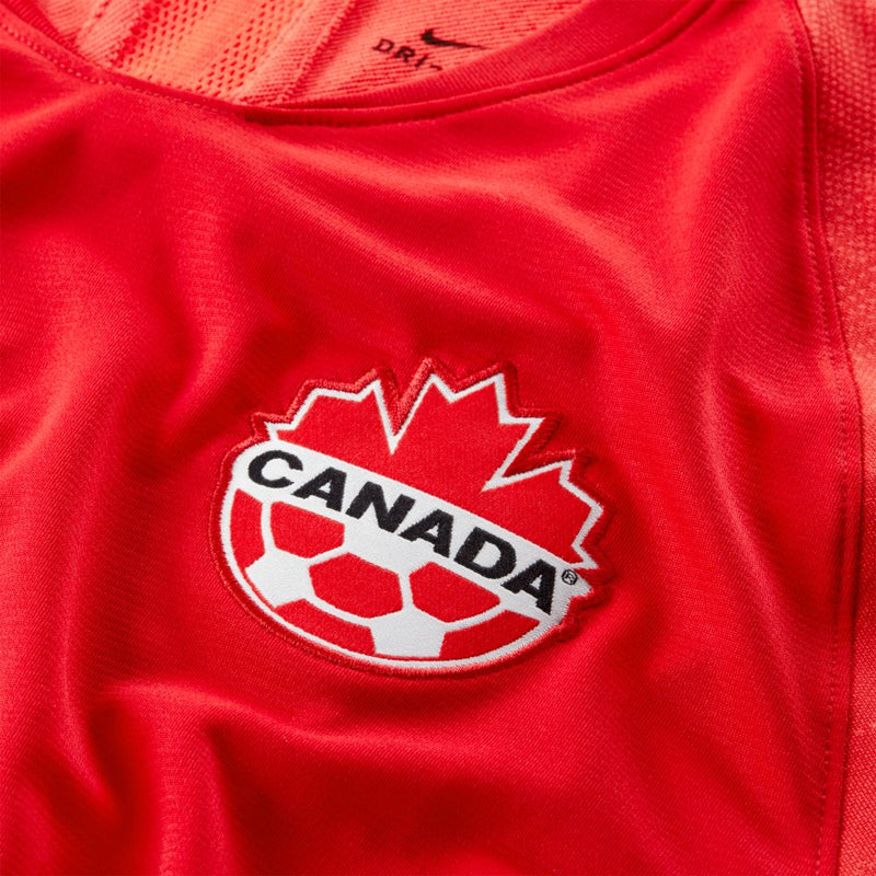 Canada Home SS Jersey - University Red/White