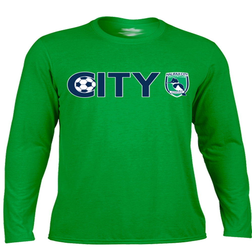 HCSC CITY Dri-Fit Long Sleeve Training Shirt - City Green