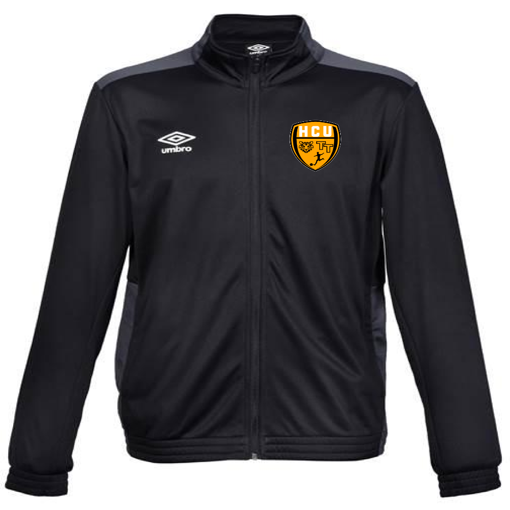 HCU Mark Knit Training Jacket - Black/Carbon/Gold