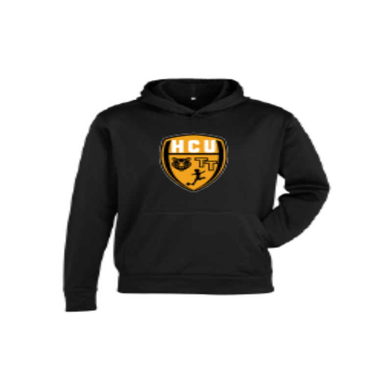 HCU NEW Club Hoodie - Black/Gold