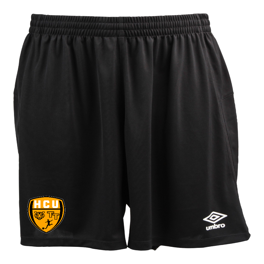 HCU Pitch Match Short - Black/Gold