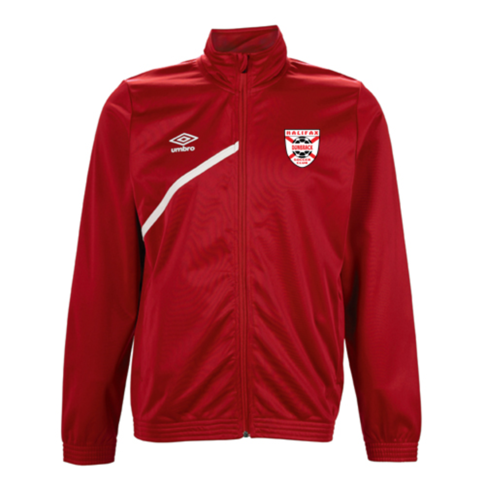 HDSC Track Jacket - Red/White