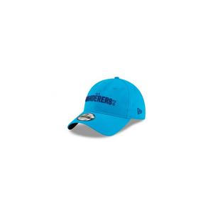 HFX Wanderers FC Adjustable WANDERERS Wordmark Hat - Aqua Ocean Blue