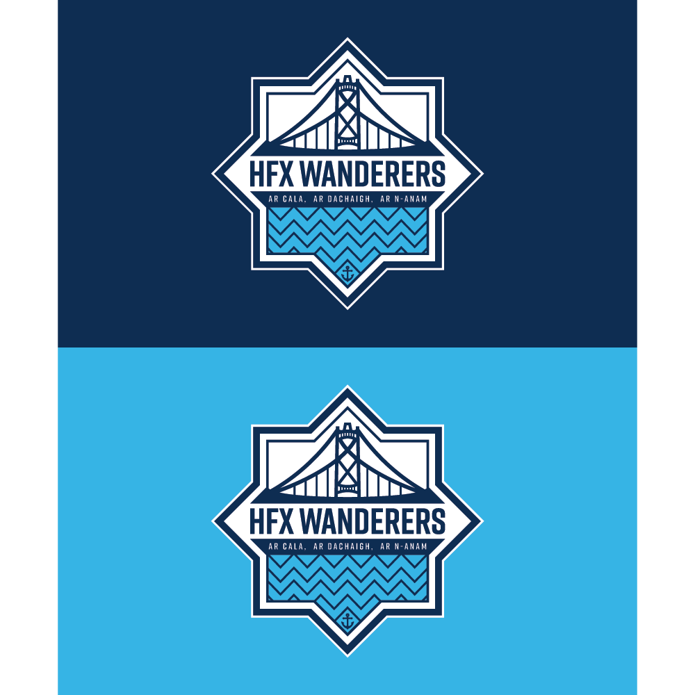 HFX Wanderers FC Flag - 5'W x 3'H