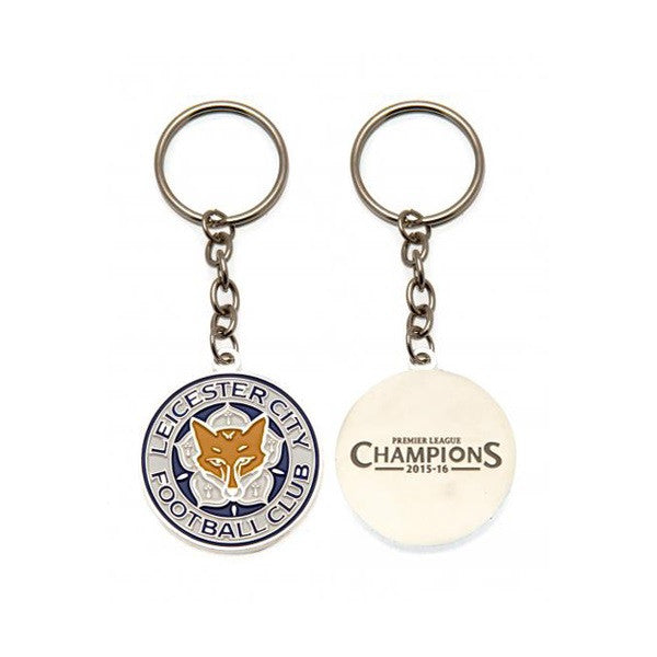 Leicester City Club Crest Keychain - Licensed
