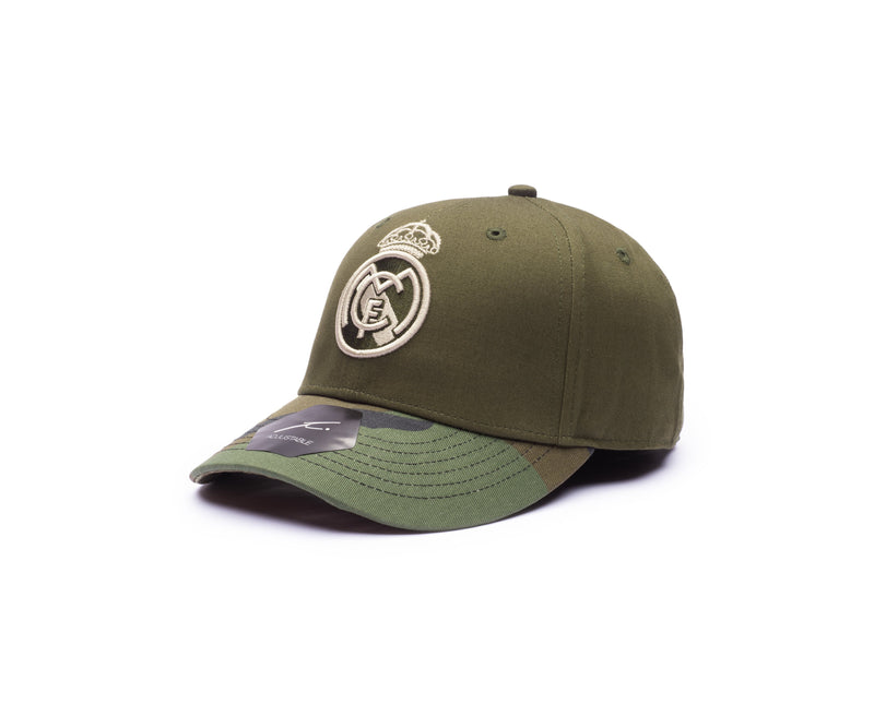 Real Madrid - Half Camo Baseball Hat