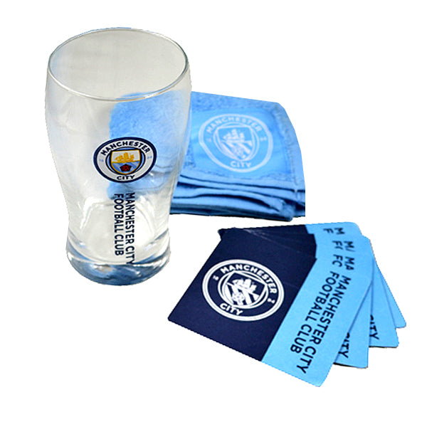 Manchester City Mini Bar Set
