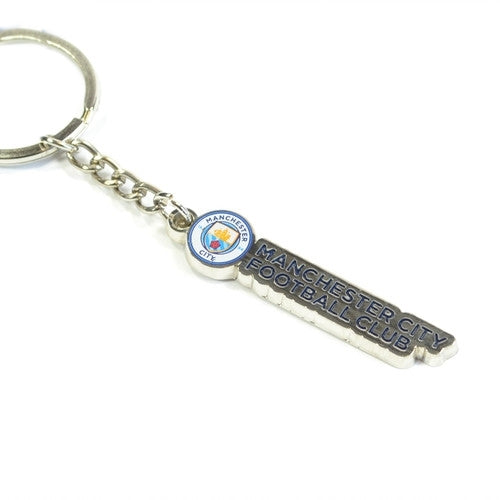 Manchester City Text Keychain