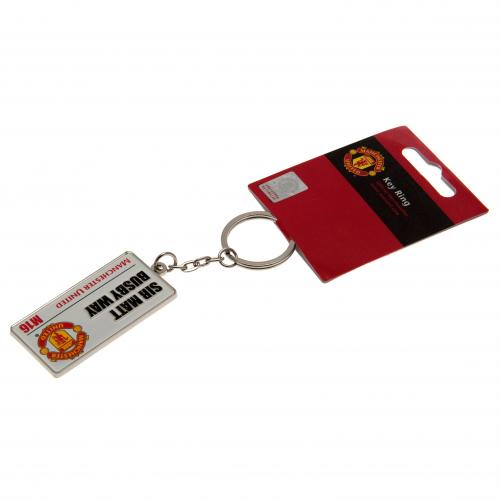 Manchester United Street Sign Keychain