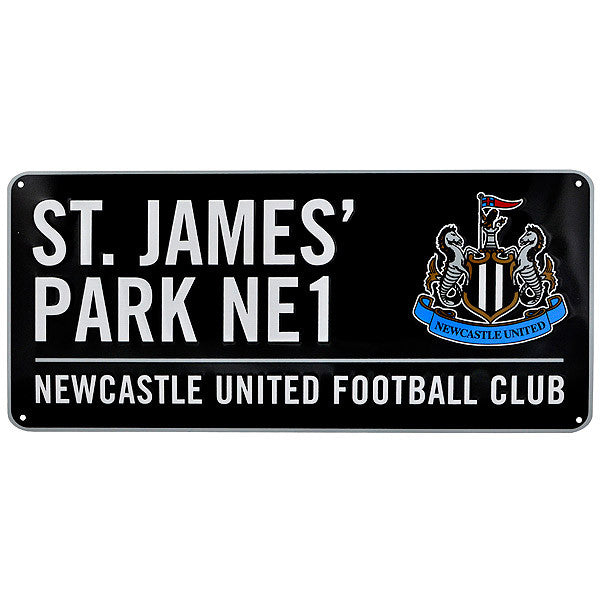 Newcastle United FC Street Sign