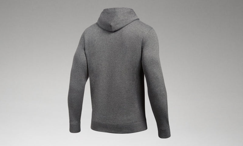 Men's Hustle Fleece Hoody - Carbon Heather