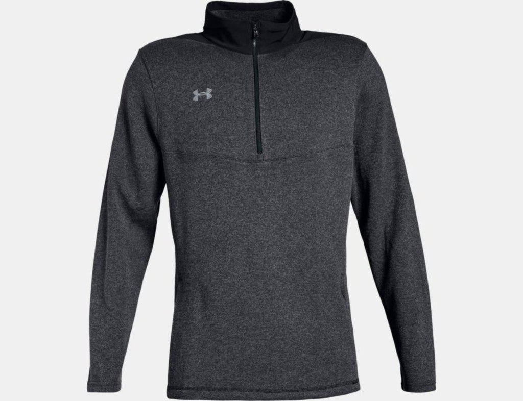 Peak Performance Fleece 1/4 Zip - Black Light Heather