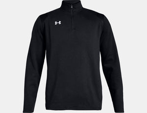 Men's Hustle Fleece 1/4 Zip - Black
