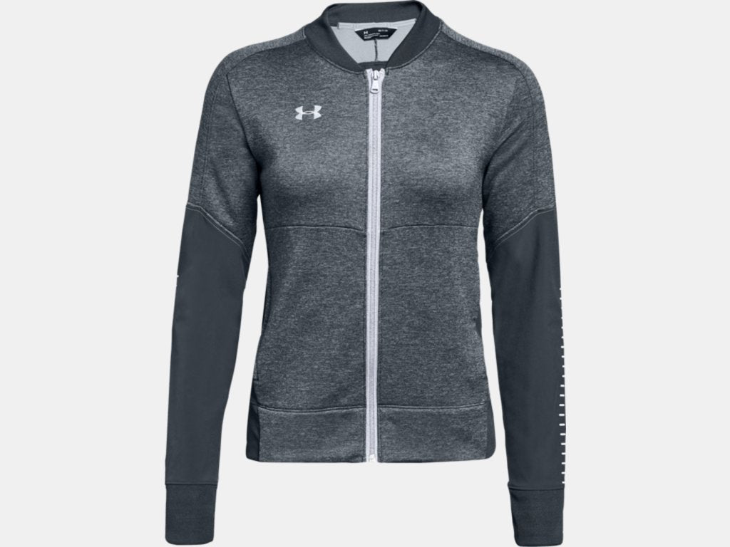 W. Qualifier Hybrid Warm-Up Jacket - Grey