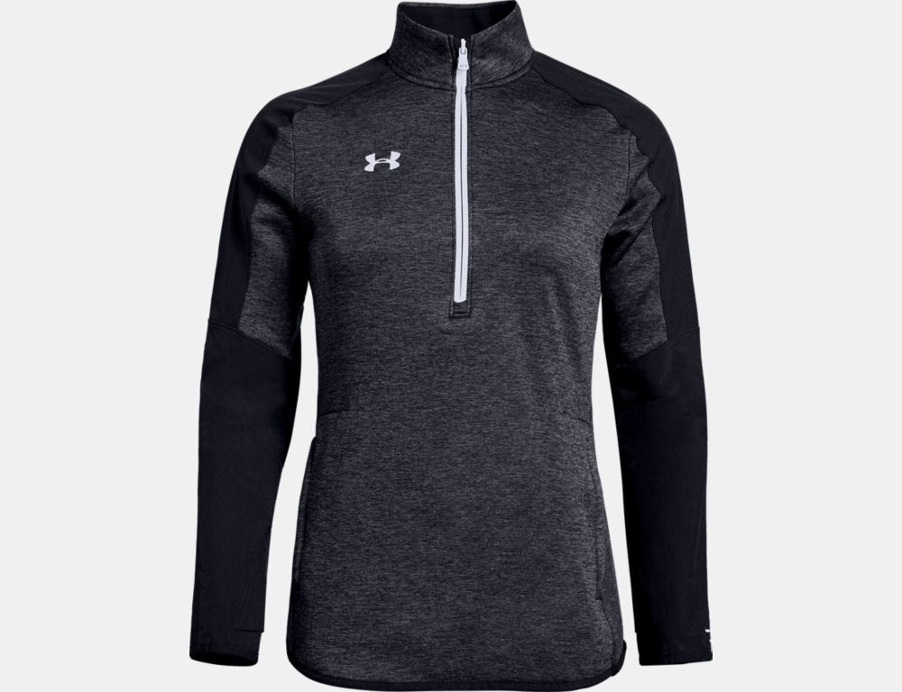 Women's Qualifier Hybrid 1/2 Zip - Black
