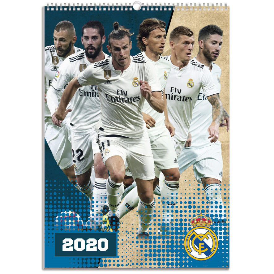 Real Madrid - 2020 Calendar