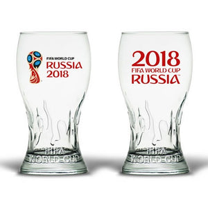 World Cup 2018 Russia Pint Glass Set
