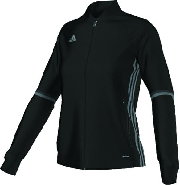 Condivo 16 Women's Training Jacket - Black/White