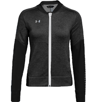 W. Qualifier Hybrid Warm-Up Jacket - Black