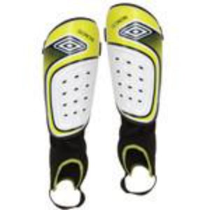 Geometra Cup Shin Guard - Green/Navy/White