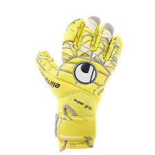 Unlimited SuperGrip Finger Surround GK Glove - Lite Fluo Yellow/Griffin