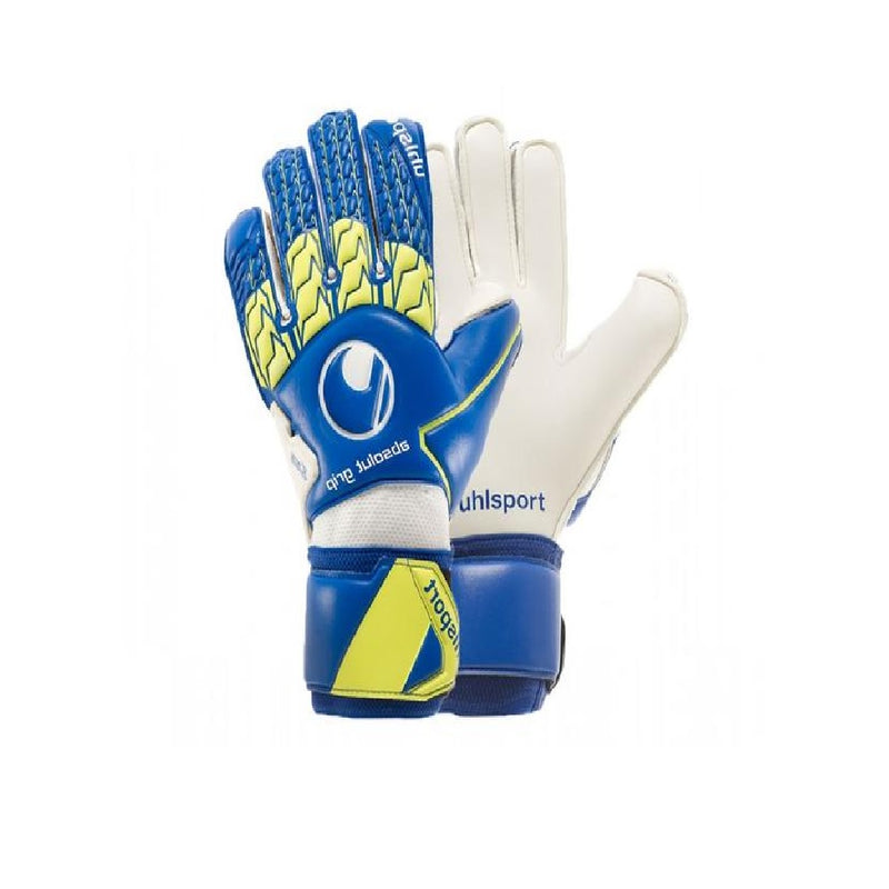 Absolutgrip GK Glove - Navy/Fluo Yellow/White
