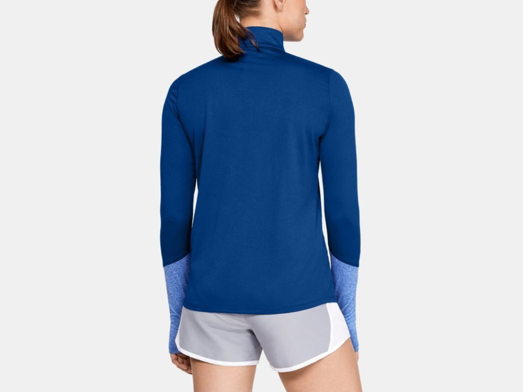 UA Women's Locker 1/2 Zip - Royal