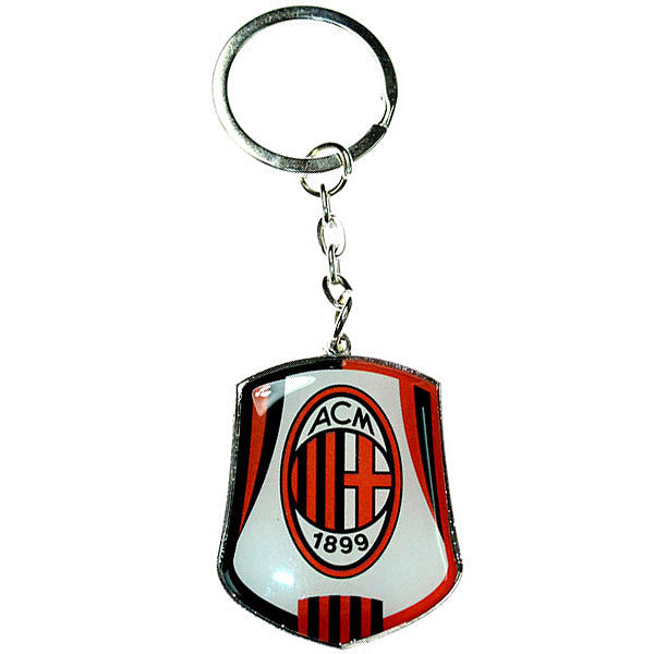 AC Milan Club Crest Keychain - Licensed