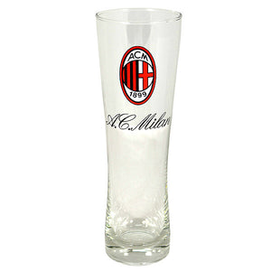 AC Milan Slim Pint Glass