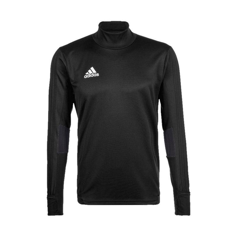 Tiro 17 Training Top - Black/Dark Grey/White