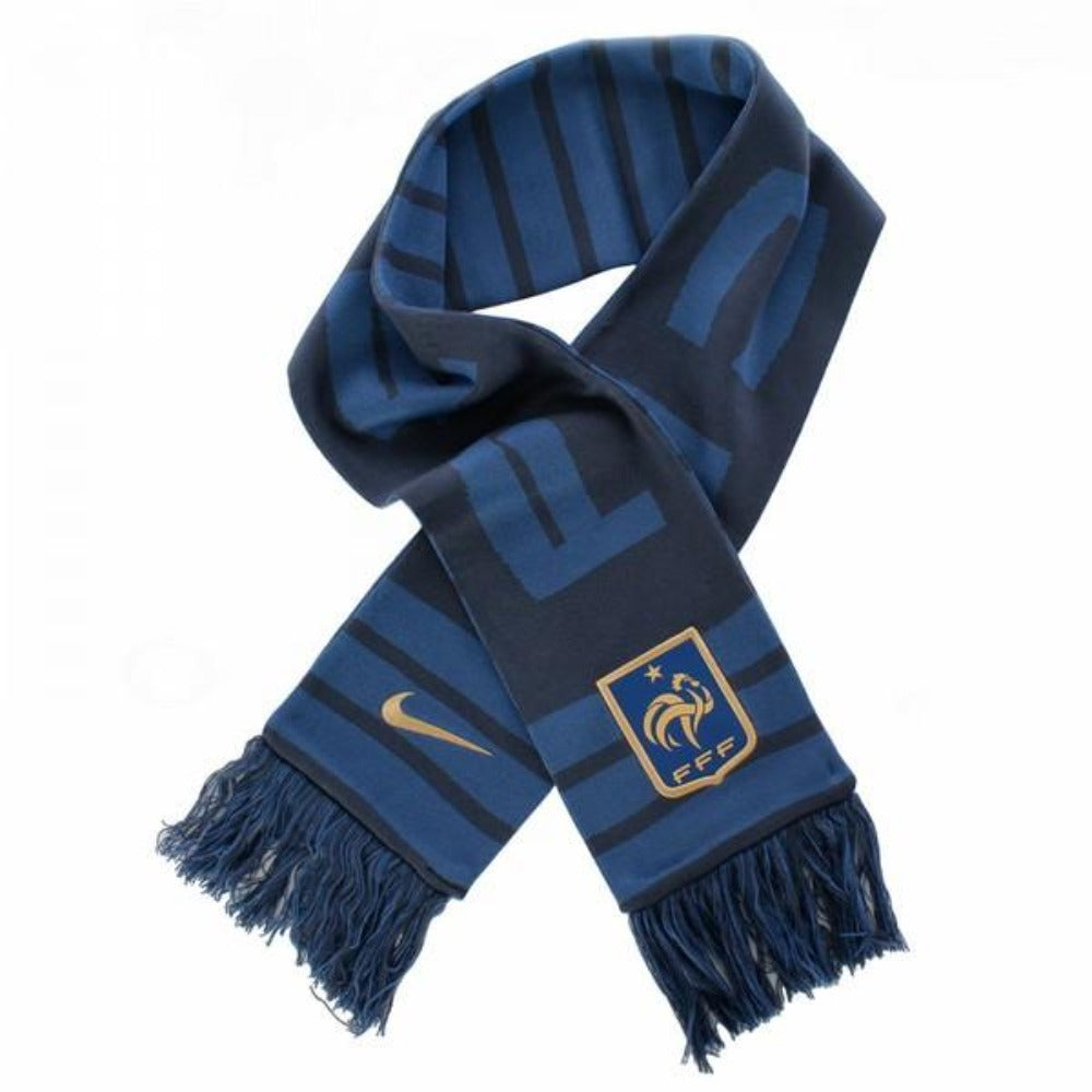 France National Team Scarf - Navy/Blue/Gold