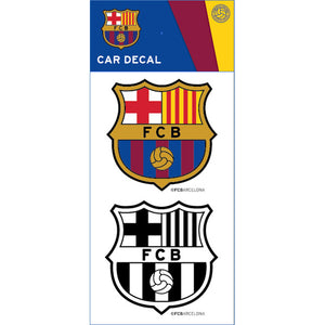 Barcelona Car Decal 2pack - Licensed