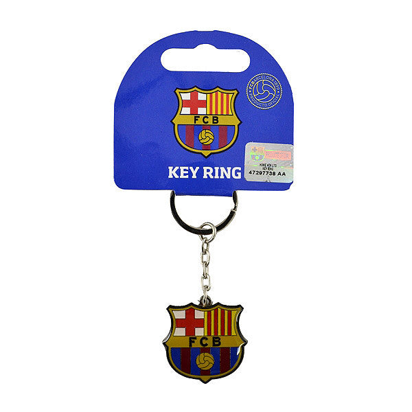 Barcelona Club Crest Keychain - Licensed
